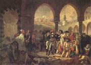 Bonaparte Visiting the Plague-Stricken at Jaffa on 11 March (mk05)