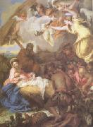 CASTIGLIONE, Giovanni Benedetto Adoration of the Shepherds (mk05) oil painting picture wholesale