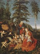 Rest on the Flight to Egypt (mk08)