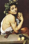 Caravaggio The young Bacchus (mk08) oil painting picture wholesale