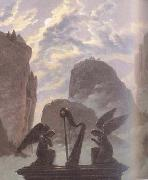 Carl Gustav Carus details Memorial Monument to Goethe (mk10) oil painting picture wholesale