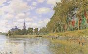 Claude Monet Zaanam (san33) oil painting reproduction
