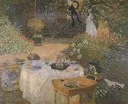 Claude Monet The lunch (san27)