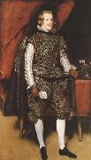 Diego Velazquez Portrait of Philip IV of Spain in Brown and Silver (mk08) oil painting picture wholesale