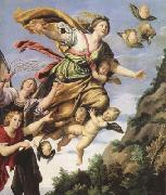 Domenichino The Assumption of Mary Magdalen into Heaven (mk08) oil painting picture wholesale