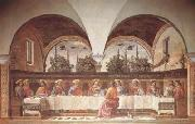 Domenico Ghirlandaio Last Supper (mk08) oil painting artist