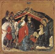 Duccio di Buoninsegna Adoration of the Magi (mk08) oil painting picture wholesale
