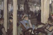 Edgar Degas Women,on a Cafe Terrace (san16) oil painting picture wholesale