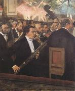 Edgar Degas The Orchestra of the Opera (mk06) oil painting picture wholesale