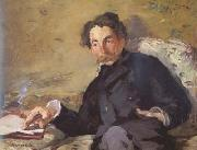 Edouard Manet Stephane Mallarme (mk06) oil painting picture wholesale
