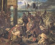 Eugene Delacroix Entry of the Crusaders into Constantinople on 12 April 1204 (mk05) oil painting picture wholesale