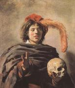 Young Man with a Skull (mk08)