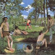 Frederic Baxille Bathers (mk09) oil painting picture wholesale