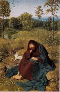 Geertgen Tot Sint Jans St John the Baptist in the Widerness (mk08) oil painting