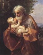 Joseph with the christ child in His Arms (san 05)