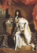 Hyacinthe Rigaud Portrait of Louis XIV (mk08) oil painting picture wholesale