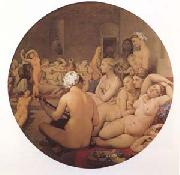 Jean Auguste Dominique Ingres The Turkish Bath (mk09) oil painting reproduction