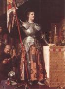 Joan of Arc at the Coronation of Charles VII in Reims Cathedral (mk09)