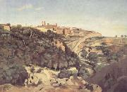Jean Baptiste Camille  Corot Volterra (mk11) oil painting picture wholesale