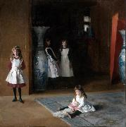 John Singer Sargent The Daughters of Edward Darley Boit (mk09) oil painting picture wholesale