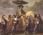 LE BRUN, Charles Chancellor Seguier at the Entry of Louis XIV into Paris in 1660 (mk08) oil painting picture wholesale