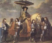 LE BRUN, Charles The Chancellor Seguier (mk05) oil painting picture wholesale