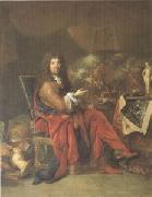 Largillierre Charles Le Brun Painter to the King (mk05) oil painting