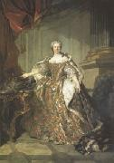 Louis Tocque Marie Leczinska Queen of France wife of Louis XV (mk05) oil painting picture wholesale