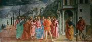 MASACCIO The Tribute Money (mk08) oil painting picture wholesale