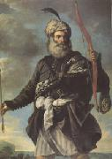 MOLA, Pier Francesco Barbary Pirate with a Bow (mk05) oil painting picture wholesale