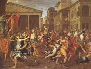 Nicolas Poussin The Rape of the Sabines (mk05) oil painting picture wholesale