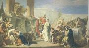 PITTONI, Giambattista Polyxenes Sacrificing to the Gods of Achilles (mk05) oil painting picture wholesale