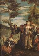 Paolo  Veronese The Finding of Moses (mk08) oil painting reproduction