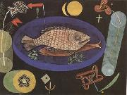 Paul Klee Around the Fish (mk09) oil painting artist