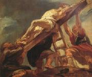 Peter Paul Rubens The Raising of the Cross (mk05) oil painting picture wholesale