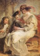 Helene Fourment and Her Children,Claire-Jeanne and Francois (mk05 )