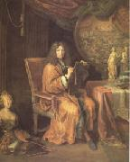 Pierre Mignard Portrait of the Artist (mk05) oil painting picture wholesale