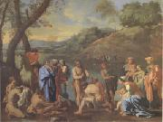 Poussin John Baptizing (mk05) oil painting picture wholesale