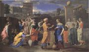 Poussin Eliezer and Rebecca (mk05) oil painting picture wholesale