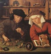 Quentin Massys The Money-changer and his wife (mk08) oil painting picture wholesale