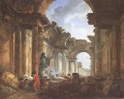 Imaginary View of the Grande Galerie in Ruins (mk05)