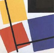 Theo van Doesburg Simultaneous Counter-Composition (mk09) oil painting picture wholesale