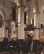 WITTE, Emanuel de Church Interior (mk08) oil painting picture wholesale