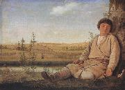 Alexei Venezianov Sleeping Shepherd Boy (mk22) oil painting