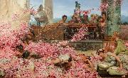 Alma-Tadema, Sir Lawrence The Roses of Heliogabalus (mk23) oil painting reproduction