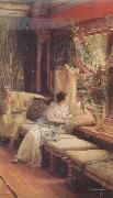 Alma-Tadema, Sir Lawrence Vain Courtship (mk24) oil painting reproduction