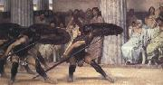 Alma-Tadema, Sir Lawrence A Pyrrhic Dance (mk23) oil painting picture wholesale