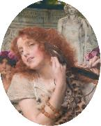 Alma-Tadema, Sir Lawrence Bacchante (mk23) oil painting reproduction