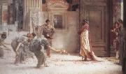 Alma-Tadema, Sir Lawrence Caracalla (mk23) oil painting reproduction