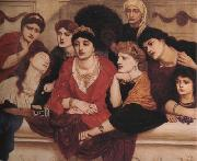 Alma-Tadema, Sir Lawrence Simeon Solomon (mk23) oil painting reproduction